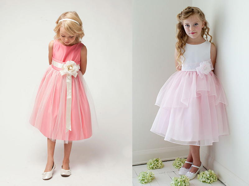 Для девочки сшить праздничное платье 478