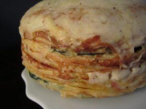 طريقة عمل الكريب باللحمة والجبنة 2015