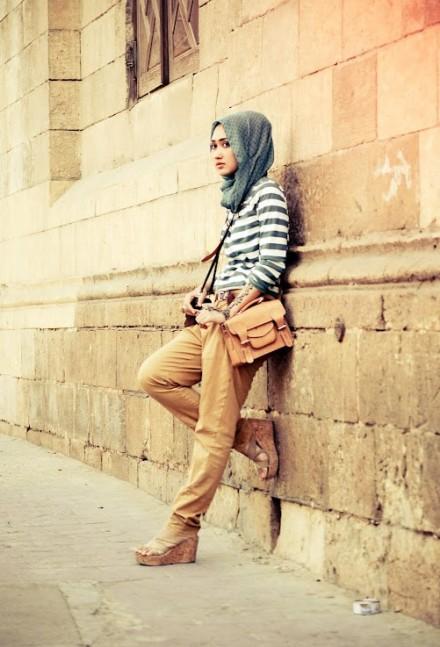 2018 Fashion style hijab modern