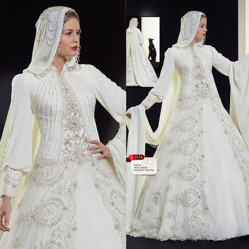 f9ce3e5be فساتين زفاف مشغولة ناعمة 2016