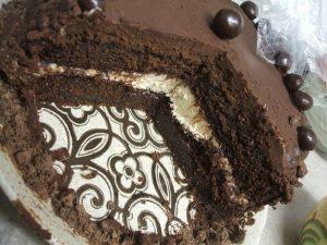 كعكة الشوكولاته مع مشروب القهوة بالصور 2015