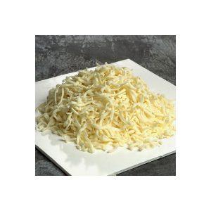 كمية من الجبن المبشور بالصور