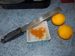تقشير البرتقال بالصور