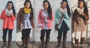 ملابس بنات شتوية 2016