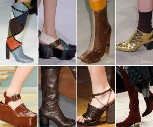 كولكشن احذية شتوية للبنات 2016