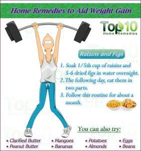 التمارين الرياضية تساعد في زيادة الوزن