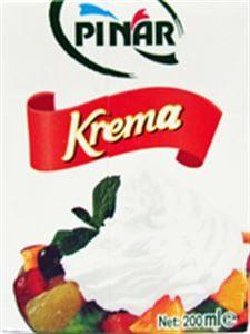 علبة كريمة بيضاء لازمة لتحضير موس الشوكولاته البيضاء