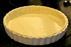 تورته الشوكولا قبل ان تطهي او تخبز في الفرن من مطبخ فتكات