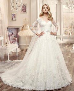 www.fatakat-a.com فساتين زفاف موضة نيكول سابا 2016efe33276675ce0bea9ca6302a32e4e63