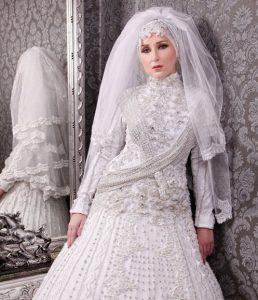 فساتين زفاف محجبات موضة 2016