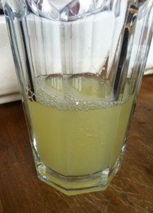مقدار من الليمون لتحضير عصير الجزر