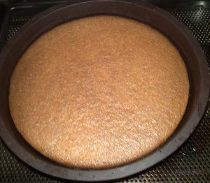 مرحلة خبز الكيك في الفرن بالبرتقال بالصور 2015