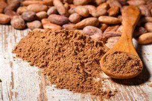مقدار الكاكاو المطلوب لصنع كعكة الشوكولاته