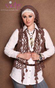 اشكال وتصماميم ملابس محجبات مصرية صيفية موضة 2016