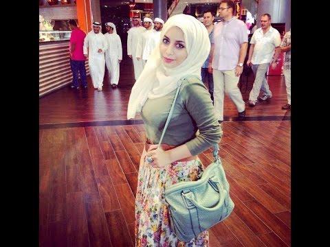b74b1e8911060 اجمل موديلات ملابس محجبات للصيف والخريف من دبي لعام 2016