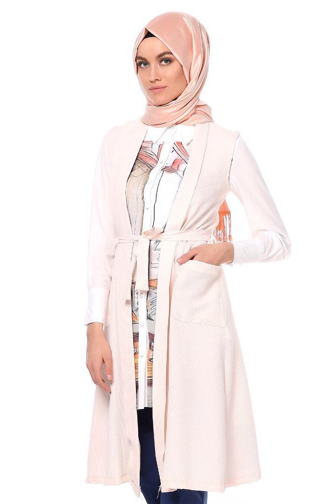 daa15da58 موديلات شتوية لملابس المحجبات التركية 2016