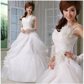 Бесплатная-доставка-любовь-одно-плечо-невесты-свадьба-сладкий-принцесса-свадебное-платье-размер-L-XL-PD0026.jpg_350x350