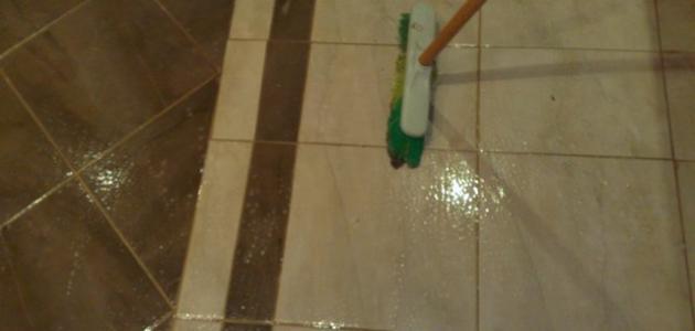 تنظيف سيراميك الحمام