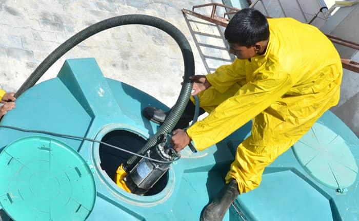تنظيف خزانات في نجران