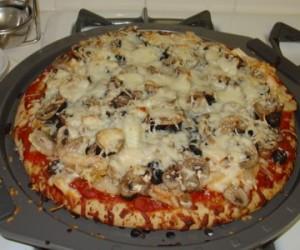 طريقة عمل البيتزا بالجمبرى