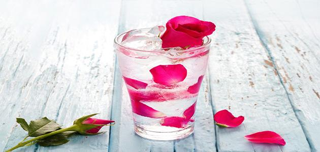 شرب_ماء_الورد_في_الصباح