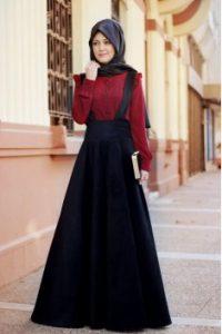 ملابس محجبات شتاء 2017