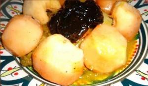طاجن اللحم بالسفرجل- اكلات رمضانية تونسية خفيفة