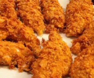 طريقة عمل الكرسبي دجاج
