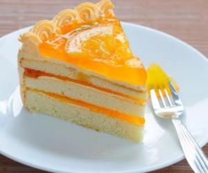 طريقة عمل كيك البرتقال بالصور