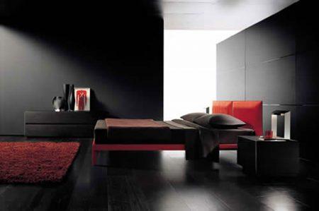 غرف-نوم-باللون-الاسود-3-450x299