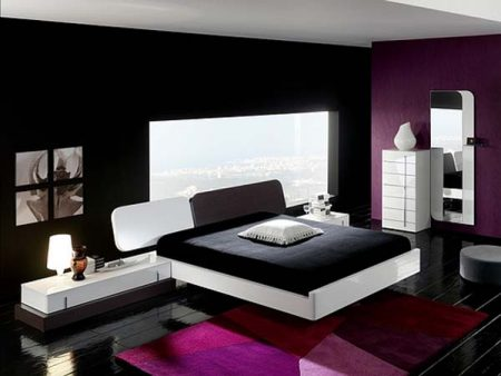 غرف-نوم-سوداء-2-450x338