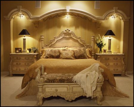 غرف-نوم-مدهبة-450x360