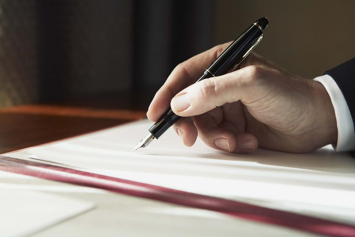 معلومات حول كتابة صيغة الاستقالة