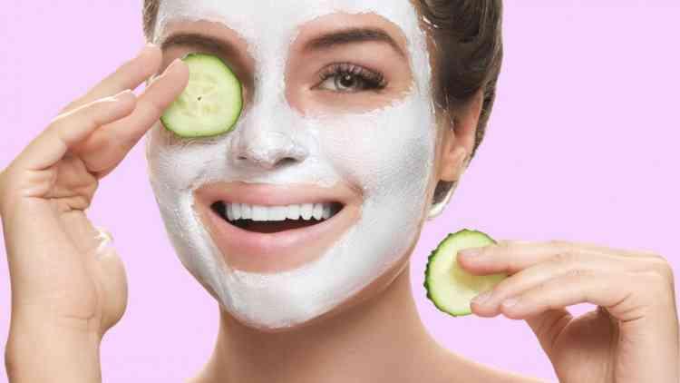 ماسك اللبن البودرة لبشرة نقية
