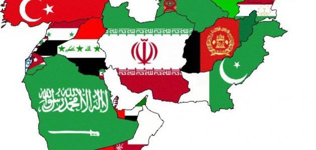 عدد دول الشرق الأوسط- منتدي فتكات