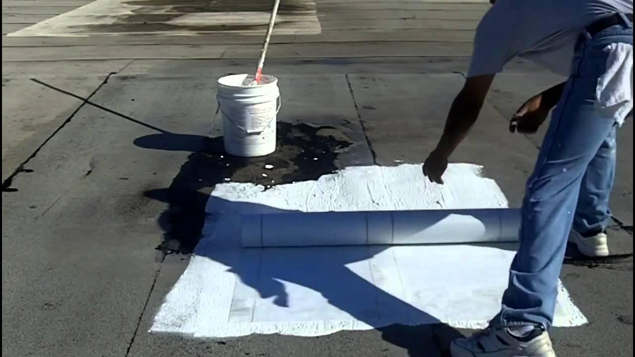 حل مشكلة تسرب مياه الامطار من سقف السطح