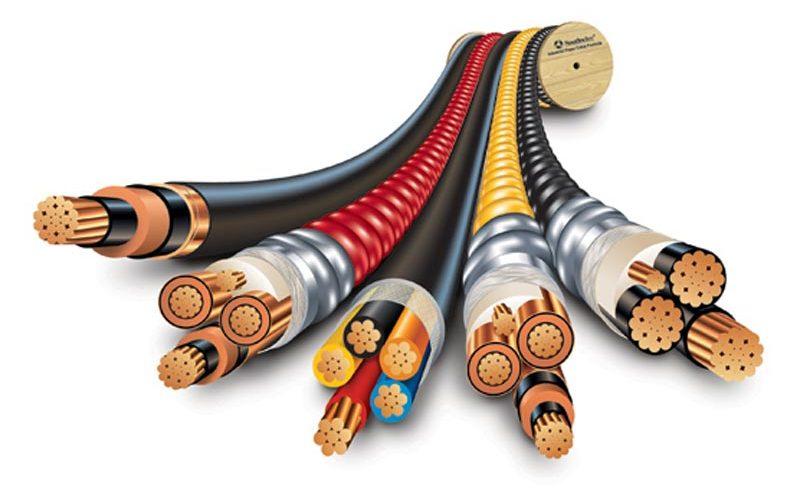 أنواع الكابلات الكهربائية