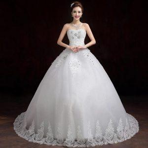 970666f60 فساتين زفاف فخمة 2018