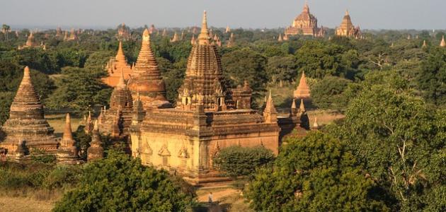 اين تقع دولة بورما