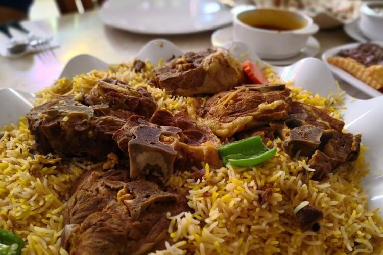 مجبوس لحم بحريني