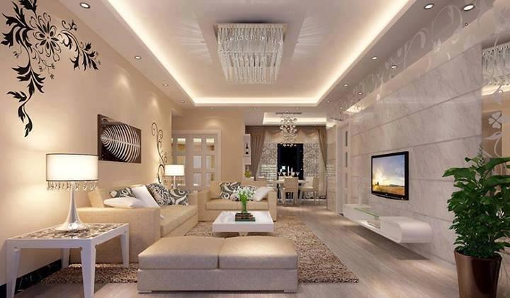 Luxury Ideas For Lavish Living Room Style: دهانات رسيبشن
