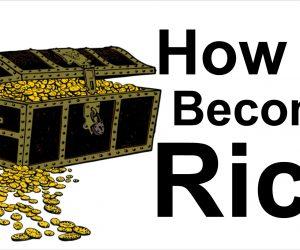 كيف أصبح غنيًا بالسحر