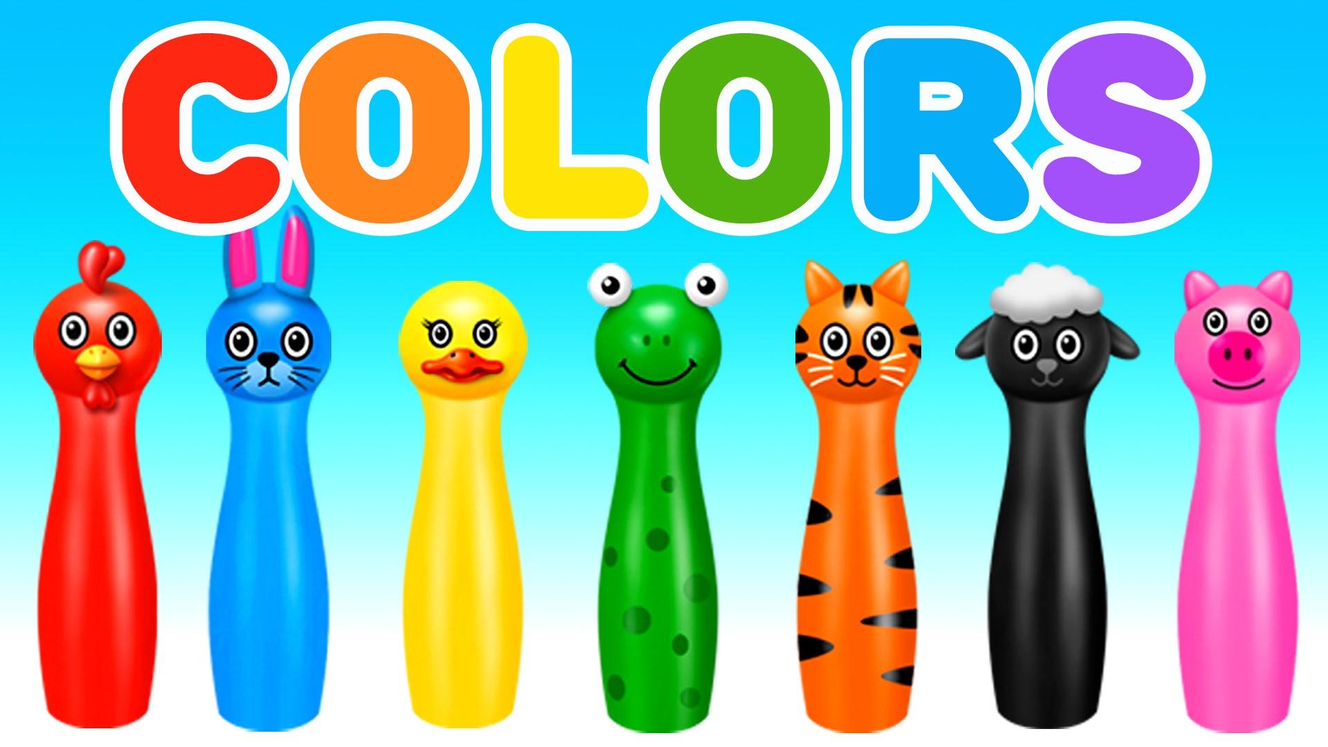 الألوان وأسمائها بالعربي