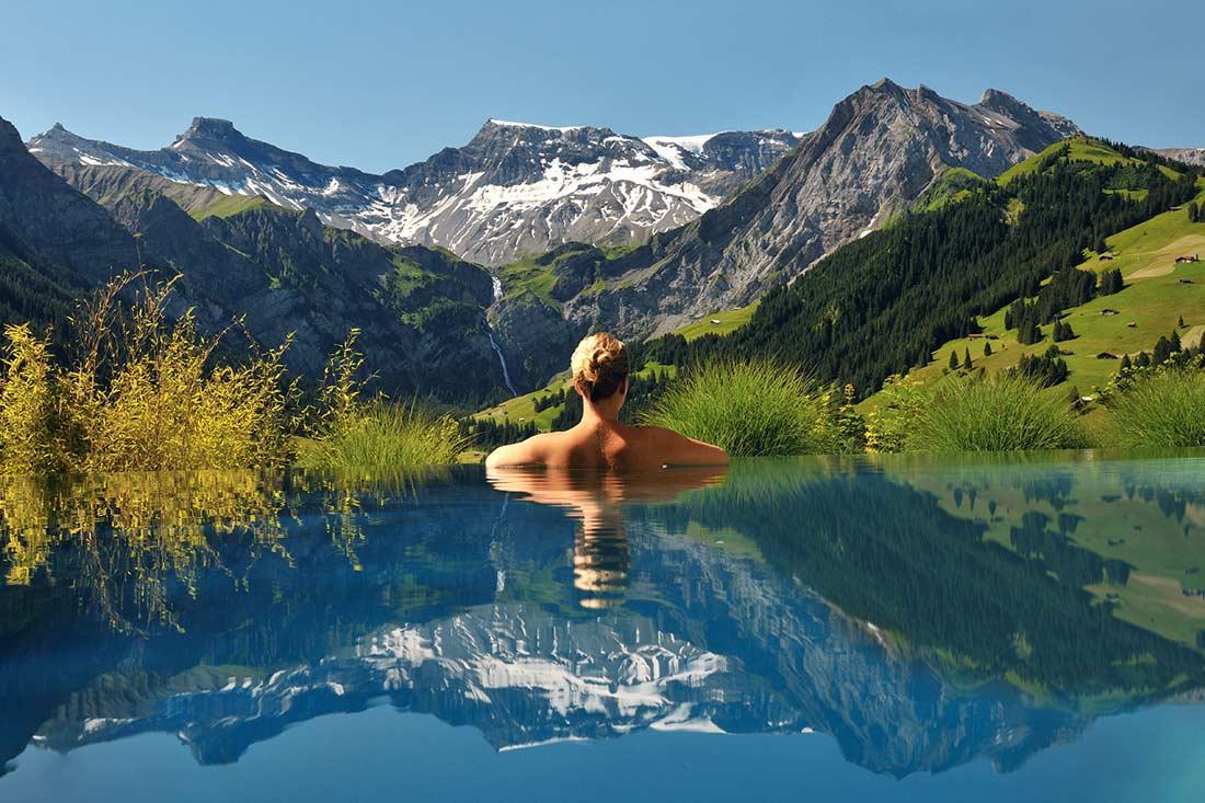 مناظر خلابة في سويسرا