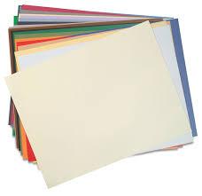 أنواع ورق الرسم