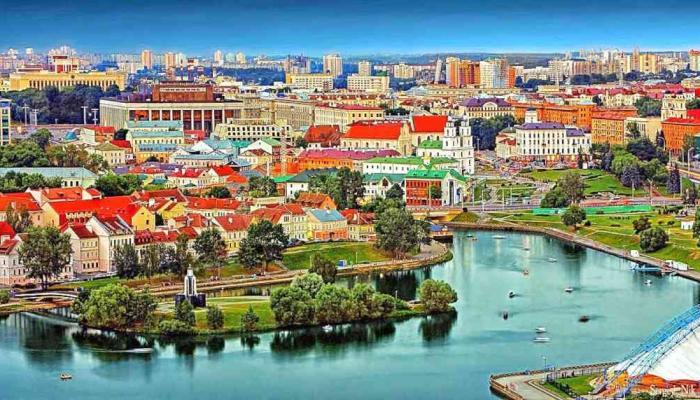 اين تقع بيلاروسيا