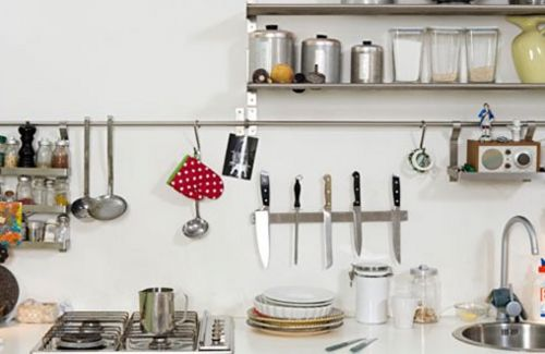 كيف أرتب أدوات المطبخ