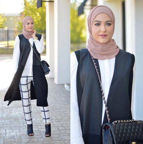 كيف انسق ملابسي مع الحجاب