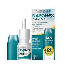 دواء نازونكس NASONEX بخاخ لعلاج التهابات الجيوب الأنفية