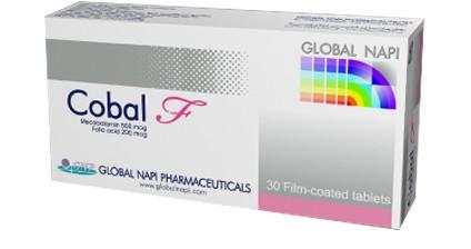 كبسولات كوبال ف Cobal F لعلاج نقص فيتامين B12